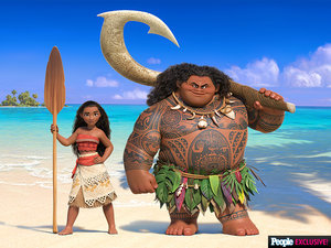 Meet the Next Disney Princess - and Get a First Look at Her Movie, Moana!