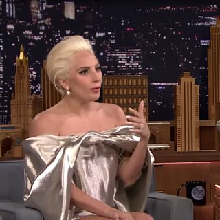 Lady Gaga on Tonight Show October 2015