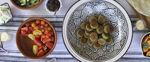 A Lighter, Greener Take on Falafel