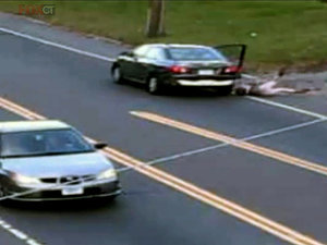 VIDEO: 17-Year-Old Girl Jumps Out of Moving Car to Escape Her Would-Be Kidnapper