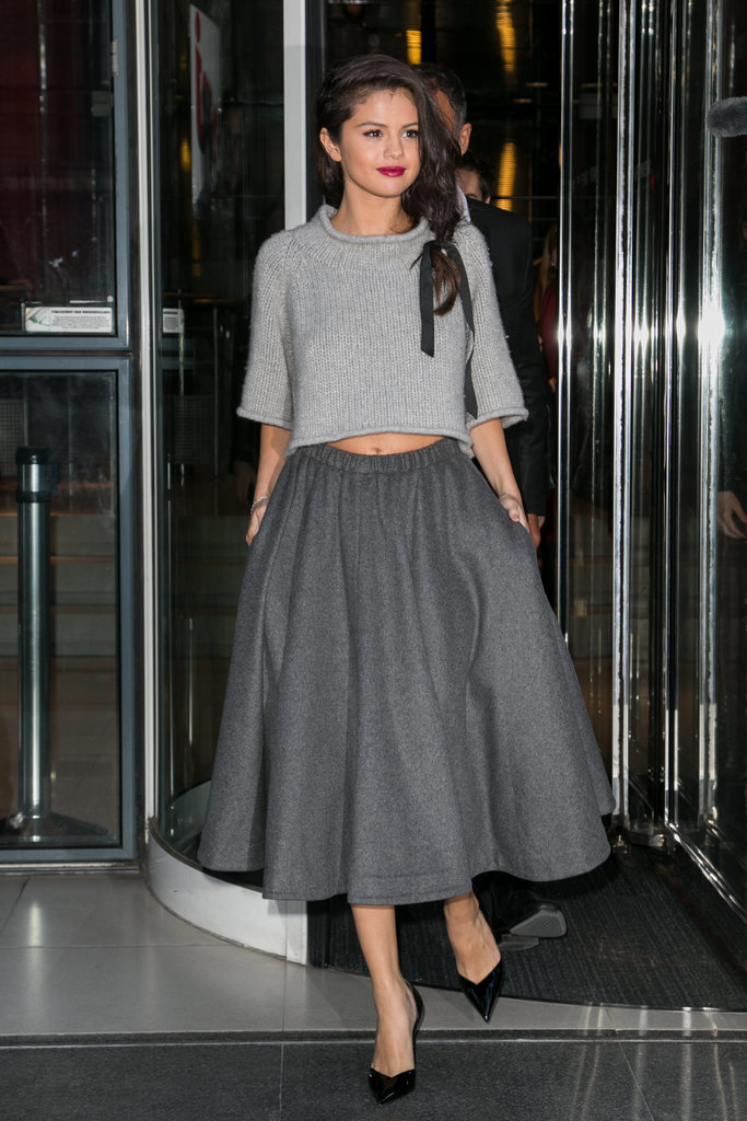 Selena Gomez Revival Style Evolution Popsugar Fashion