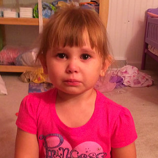 Little Girl Blames Barbie For Telling Her to Paint Her Body
