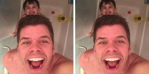 Perez Hilton Showers Naked With His Son — And I Applaud His Selfie
