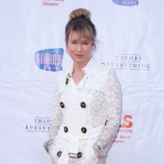 Bridget Jones Shows Us How Maternity Overalls Are Meant to Look