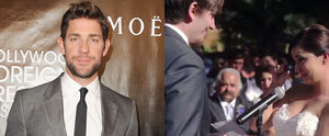 A Bride Incorporated The Office Into Her Vows and John Krasinski Had a Great Reaction