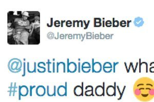 Justin Bieber's Dad Sent This Really Awkward Tweet About His Son's Dick