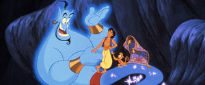 This Is the First Time This Footage of Robin Williams as Genie Has Seen the Light of Day