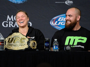 Travis Browne Confirms Relationship with Fellow UFC Fighter Ronda Rousey: 'She Is My Woman'