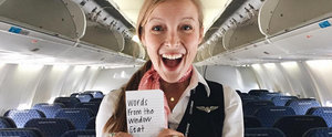 This Flight Attendant Leaves Uplifting Notes For Her Adventure-Seeking Passengers