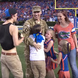 Military Family Gets Once-in-a-Lifetime Surprise at the Florida Gators Football Game