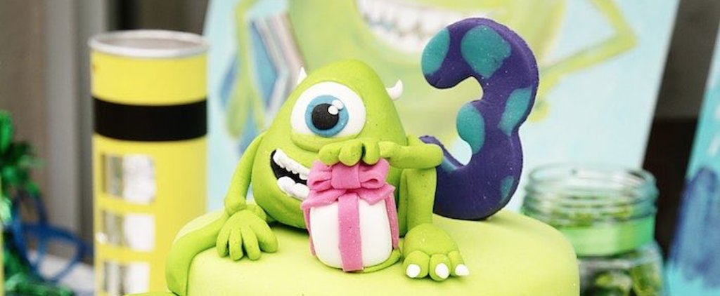 This Green and Blue Monsters Inc. Birthday Party Is Beyond Sweet