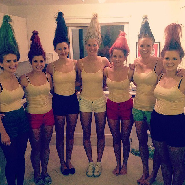 Halloween party costume ideas mykinley your resident portal if someone says you look like a troll this halloween take it as a compliment solutioingenieria Image collections