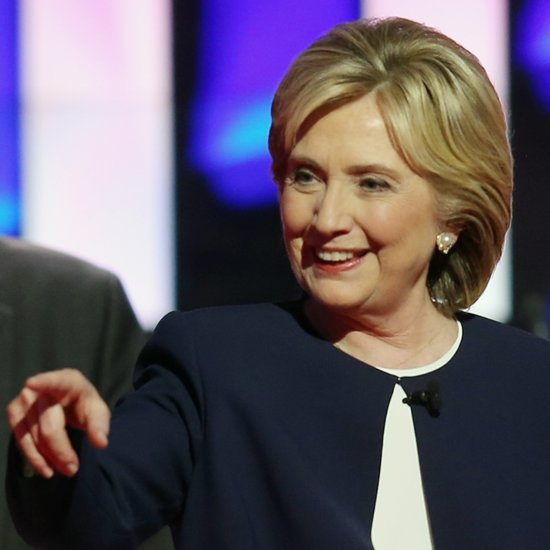 Hillary Clinton at the Democratic Debate (Video)