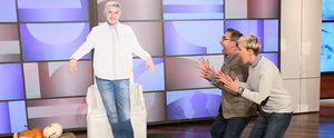 Ellen DeGeneres Gives Steve Carell the Best Halloween Lawn Decoration