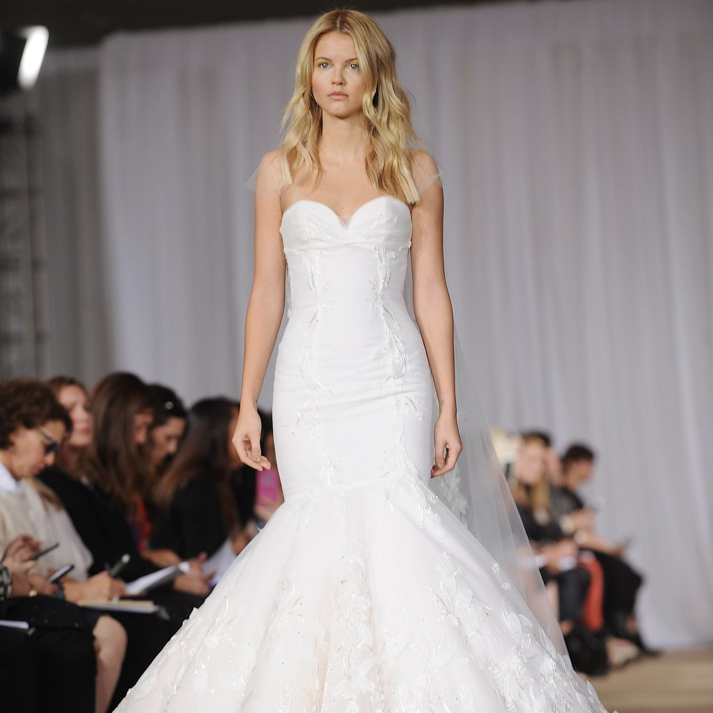 Mermaid & Trumpet Gowns From Bridal Fashion Week Winter