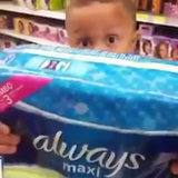 Watch This Tiny Detective Hilariously Question His Mom About Maxi Pads