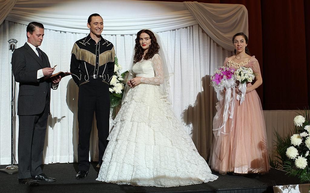 That's some wedding dress!