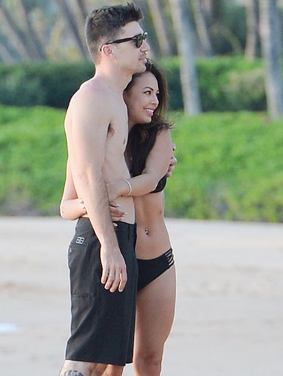Pretty Little Bikini: Janel Parrish Hits the Beach with Her Rocker Beau
