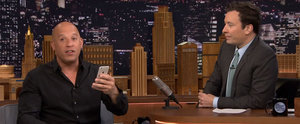 Vin Diesel Reads the Sweetest Text From His 7-Year-Old Daughter on The Tonight Show