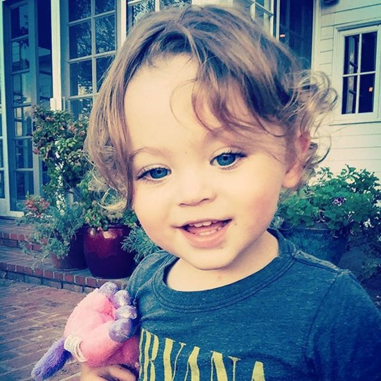 Megan Fox Shares Photo of Son Bodhi October 2015