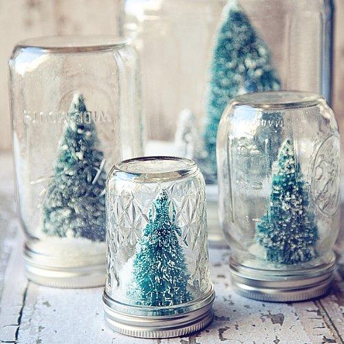 Mason Jar Holiday Decor