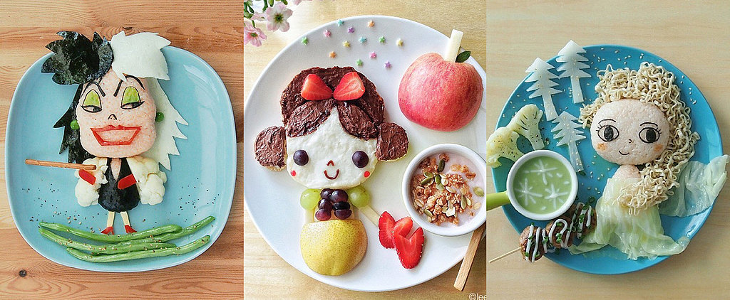 This Disney-Inspired Food Art Is So Well Done We'd Feel Guilty Eating It