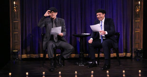 Tom Hanks and Jimmy Fallon Act Out Bridge of Spies, as Scripted by Children