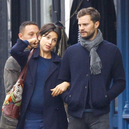 Jamie Dornan Out With His Wife in London October 2015