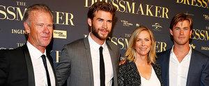 Liam Hemsworth Turns His Australian Premiere Into a Family Affair