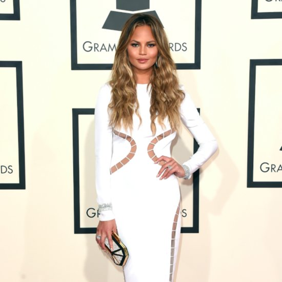 Chrissy Teigen Posts Baby Bump Picture on Instagram