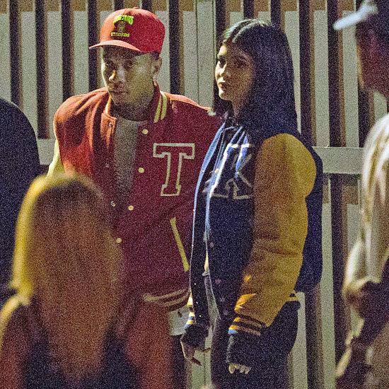 Kylie Jenner and Tyga Wear Varsity Jackets