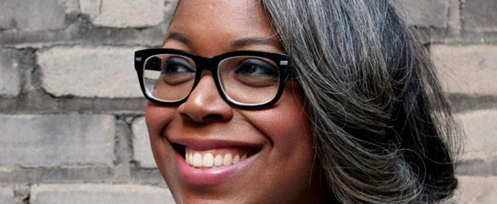 One Woman Shares Her Story About Growing Up With Naturally Grey Hair