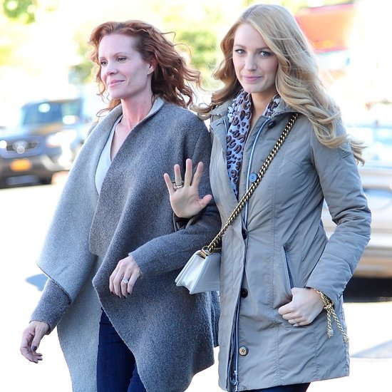 Blake Lively and Sister Robyn Leaving Hotel in NYC