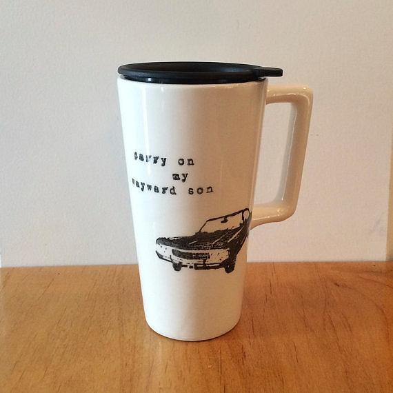 Carry On Mug ($ 25)