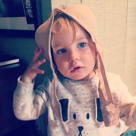 Olivia Wilde Son Otis Photo October 2015