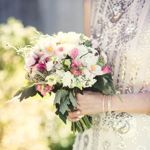 Repurposing Bridal Bouquets For Wedding Decor