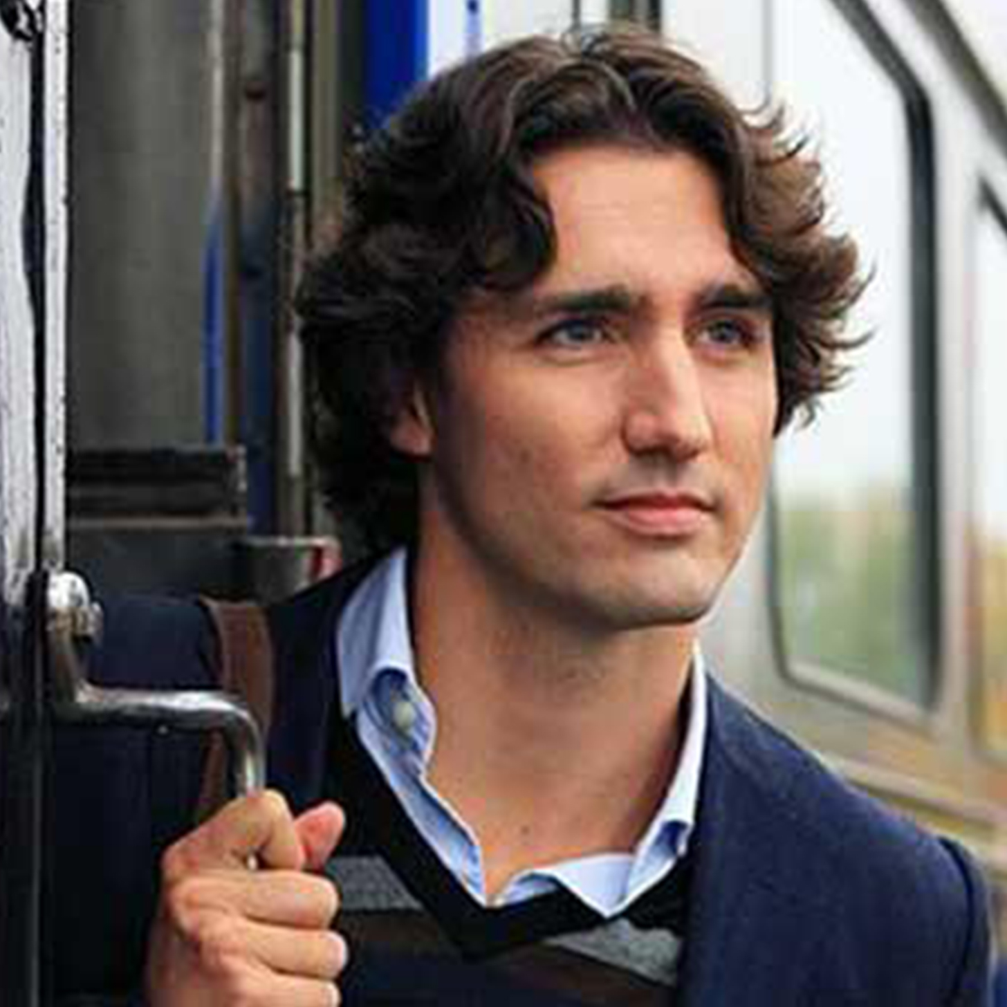 Justin Trudeau Prime Minister Of Canada Poses For A: Canada's Prime Minster Justin Trudeau Is A Hot Hipster