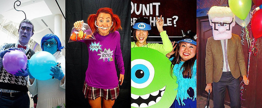 POPSUGAR Shout Out: Dress Up as Your Favorite Pixar Movie Characters This Halloween