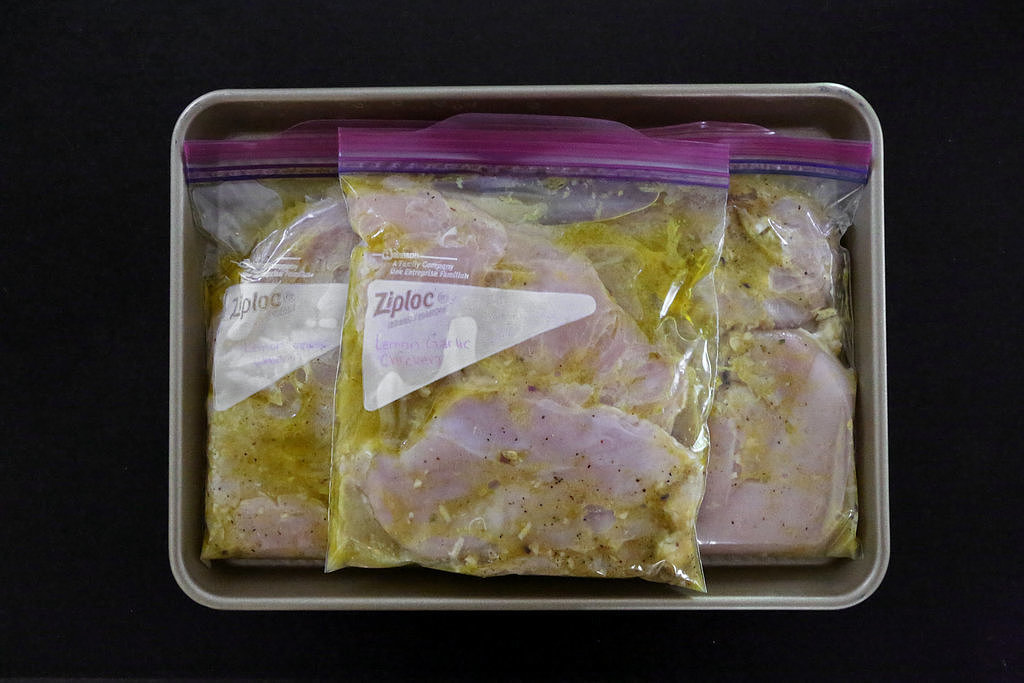 Prep Multiple Meals of Chicken Breasts at Once