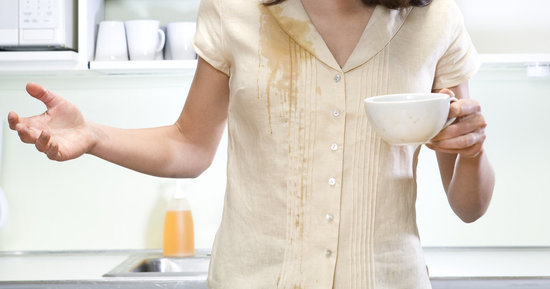 So You Spilled Coffee On Your Shirt... Here's What To Do Now