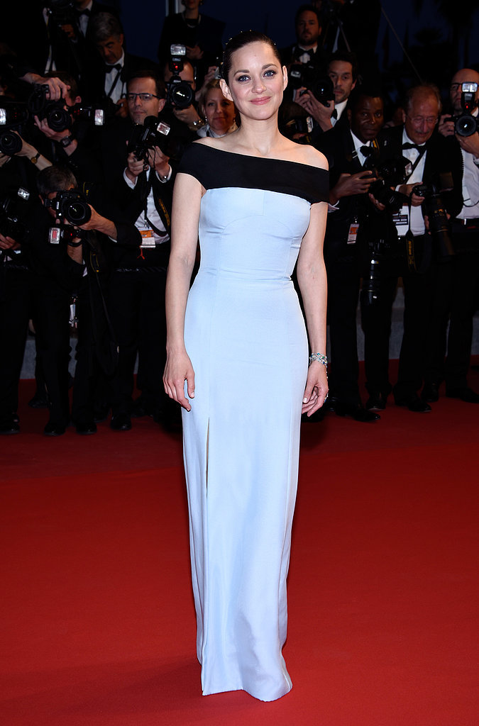 Marion Cotillard in Dior at the Cannes Film Festival.