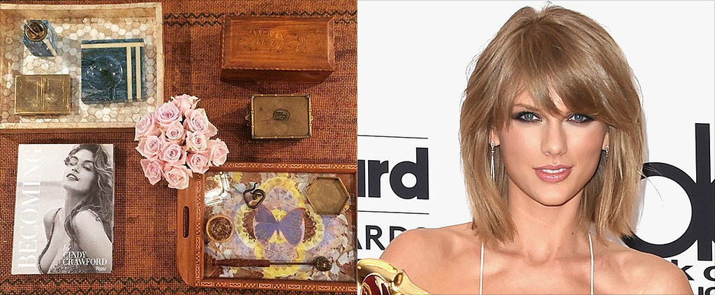 Taylor Swift's Coffee Table Is the Most Beautiful Thing You'll See All Day