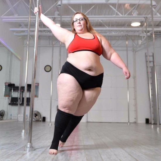 Plus-Size Woman Loses Weight by Pole Dancing
