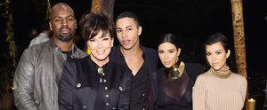 The Kardashian-Jenner Ladies Turn Heads at Balmain Designer's Birthday Bash