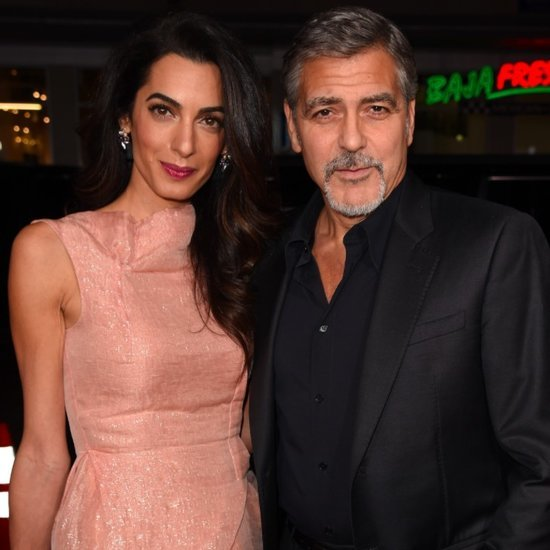 George and Amal Clooney at Our Brand Is Crisis LA Premiere