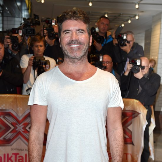 Simon Cowell Receives an Adorable Surprise Visit During His Interview