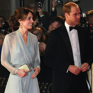 Kate Middleton and Prince William at James Bond Premeire