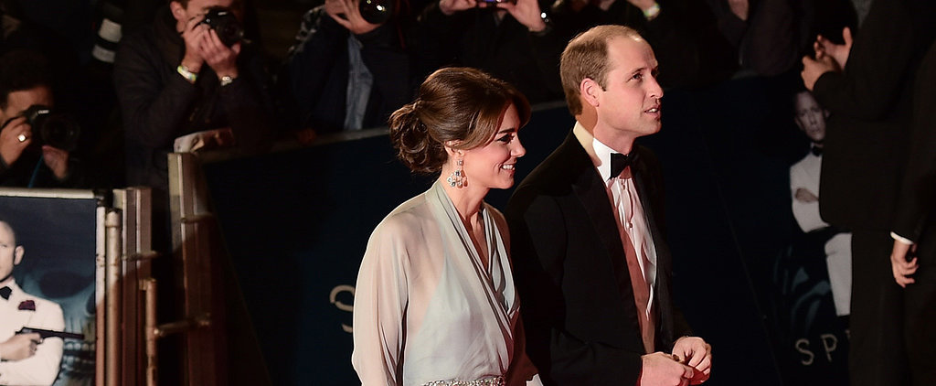 Kate Middleton Has Never Looked More Like a Princess Than at the Spectre Premiere