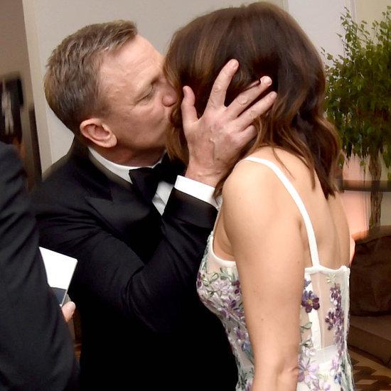 Daniel Craig and Rachel Weisz at the Spectre London Premiere