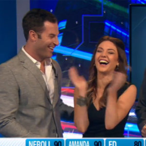 Sam Frost and Sasha on Have You Been Paying Attention